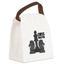 Chess Master Canvas Lunch Bag