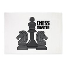 Chess Master 5'x7'Area Rug