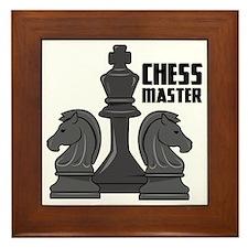 Chess Master Framed Tile
