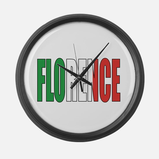Florence Large Wall Clock