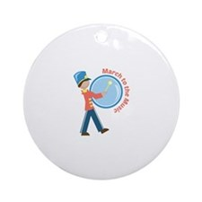March To The Music Ornament (Round)