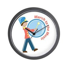 March To The Music Wall Clock