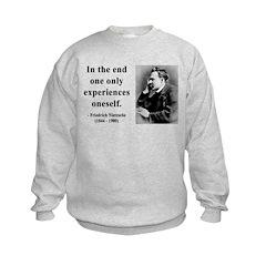Nietzsche 2 Kids Sweatshirt
