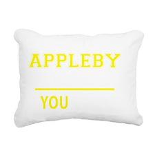 Unique Appleby Rectangular Canvas Pillow