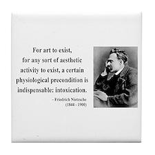 Nietzsche 25 Tile Coaster