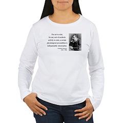 Nietzsche 25 Women's Long Sleeve T-Shirt