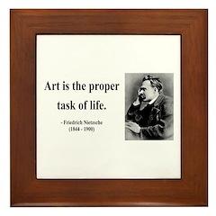 Nietzsche 24 Framed Tile