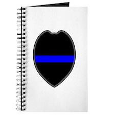 Blue Line Badge 5 Journal