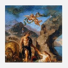 Autumn - Bacchus and Ariadne Tile Coaster