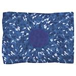Little Swimmers - Blue Pillow Sham