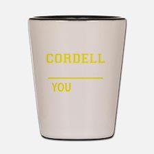 Cool Cordell Shot Glass