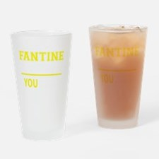 Unique Fantine Drinking Glass
