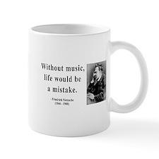 Nietzsche 22 Small Mug