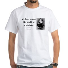 Nietzsche 22 White T-Shirt