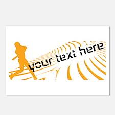 Cool Orange Baseball Postcards (Package of 8)