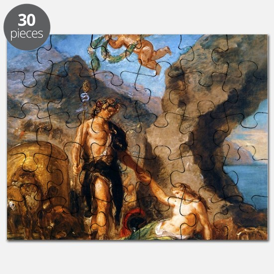 Autumn - Bacchus and Ariadne Puzzle