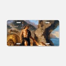 Autumn - Bacchus and Ariadn Aluminum License Plate