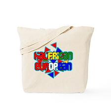 Halfrican-European Tote Bag