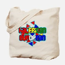 Halfrican-European Tote Bag
