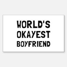 Worlds Okayest Boyfriend Decal