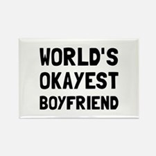 Worlds Okayest Boyfriend Magnets