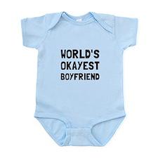 Worlds Okayest Boyfriend Body Suit