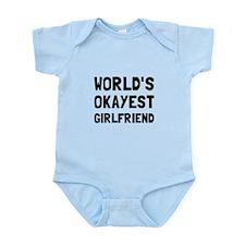 Worlds Okayest Girlfriend Body Suit