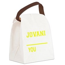 Funny Jovany Canvas Lunch Bag