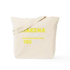 Cute Makena Tote Bag