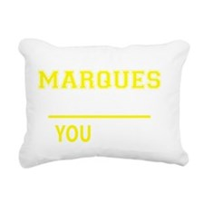 Unique Marques Rectangular Canvas Pillow