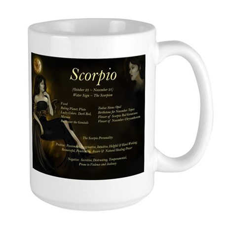 Goddess Scorpio Large Mug