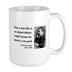 Nietzsche 20 Large Mug
