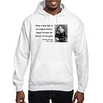 Nietzsche 20 Hooded Sweatshirt