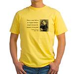 Nietzsche 20 Yellow T-Shirt
