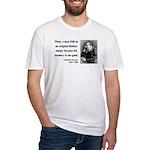 Nietzsche 20 Fitted T-Shirt