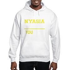 Cute Nyasia Hoodie Sweatshirt