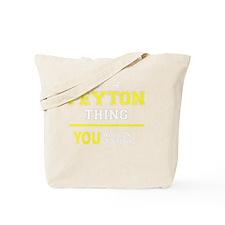 Cute Peyton Tote Bag