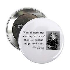 """Nietzsche 19 2.25"""" Button (10 pack)"""