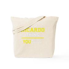 Unique Ricardo Tote Bag