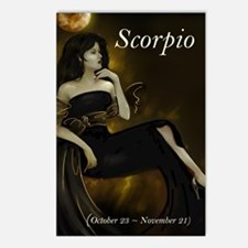 Goddess Scorpio Postcards (8)