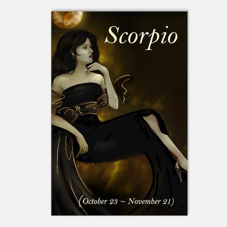 Goddess Scorpio Postcards (8)