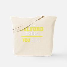 Unique Telford Tote Bag