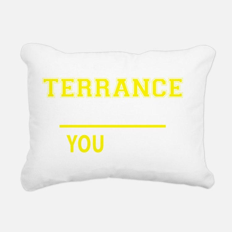 Cute Terrance Rectangular Canvas Pillow