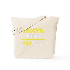 Funny Tanya Tote Bag
