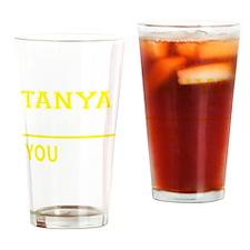 Cute Tanya Drinking Glass