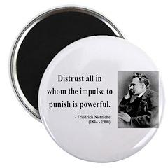 """Nietzsche 17 2.25"""" Magnet (10 pack)"""