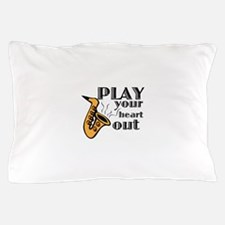 Play Heart Out Pillow Case
