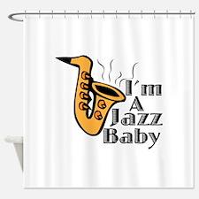 A Jazz Baby Shower Curtain
