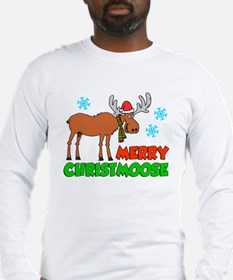 Merry Christmoose Long Sleeve T-Shirt