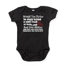 Behind or Under Trucking Baby Bodysuit